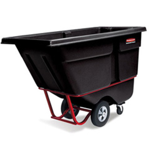 Rubbermaid 1306bla tilt truck 0.5 cubic yard 1400