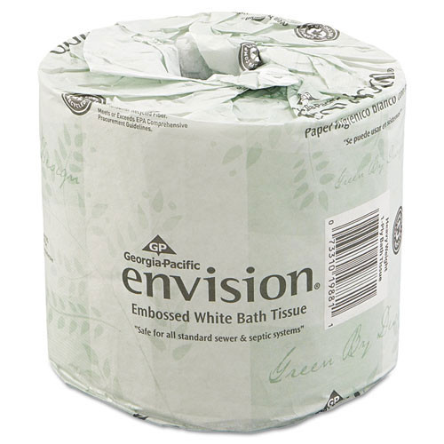 Envision GPC1988001 standard roll bathroom tissue 2 ply