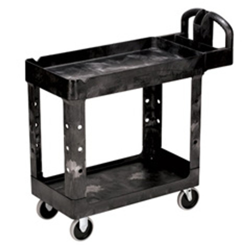 Rubbermaid 450088bla utility cart 500 lbs 17x38 black