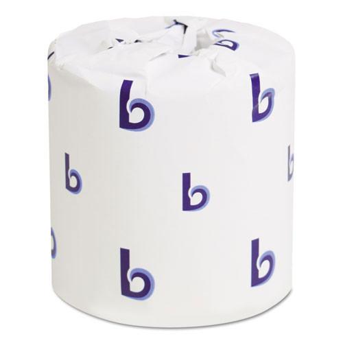 Boardwalk BWK6170 standard roll bathroom tissue 1 ply