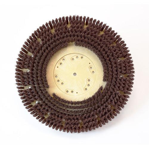 Floor scrubber brush 0.018 nylon 500 grit malgrit