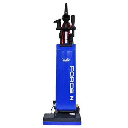 Sandia force14 601000bags upright vacuum with onboard tools
