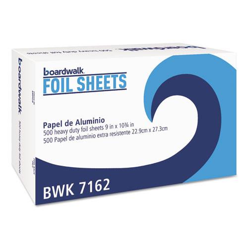 Boardwalk BWK7162 pop up aluminum foil sheets 9