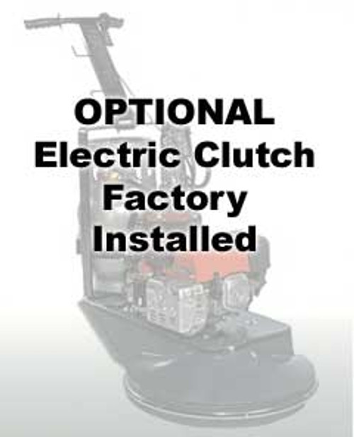Eagle propane buffer electric clutch factory installed
