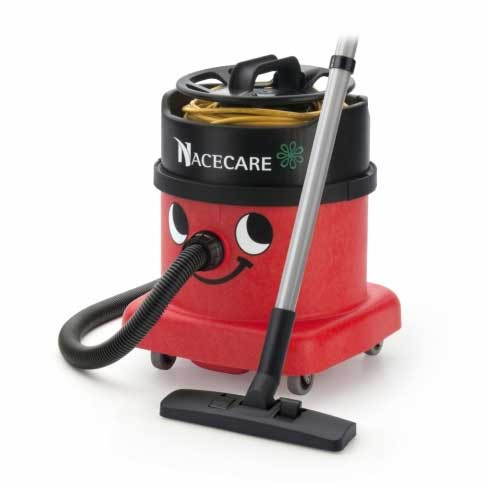 NaceCare PSP380 dry canister vacuum with AH3 air