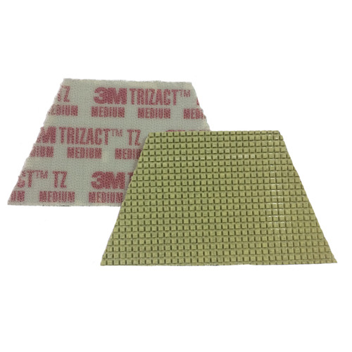 3M 86019 Trizact Diamond TZ Pads red 860193MBX4