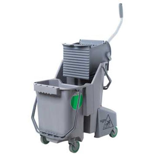 Unger COMBGGW SmartColor gray mop bucket wringer combo
