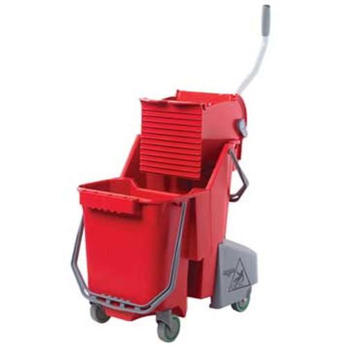 Unger COMBRGW SmartColor red mop bucket wringer combo