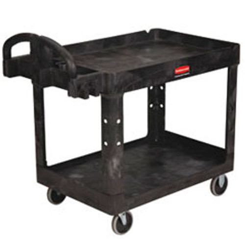 Rubbermaid 452010bla heavy duty utility cart with pneumatic