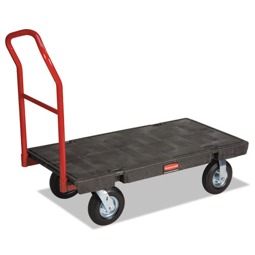 Rubbermaid 443610bla platform truck heavy duty 48x24 inch