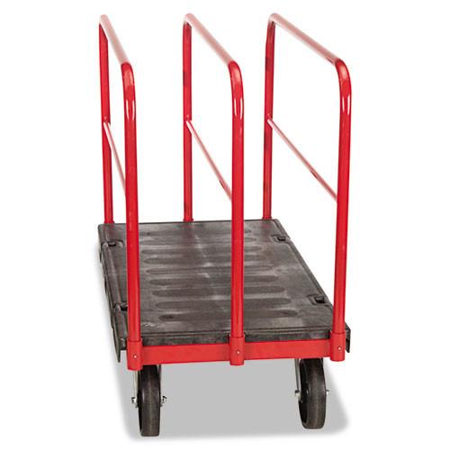 Rubbermaid 4468bla platform truck sheet and pannel truck