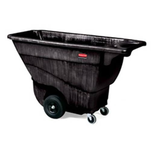 Rubbermaid 9t14bla tilt truck made of structural foam