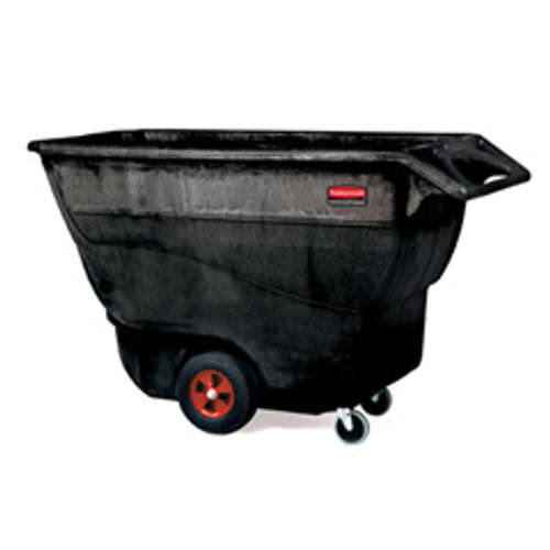 Rubbermaid 9t15bla tilt truck made of structural foam