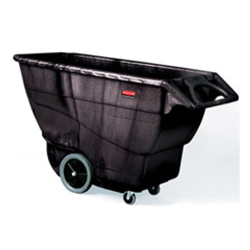 Rubbermaid 9t16bla tilt truck made of structural foam