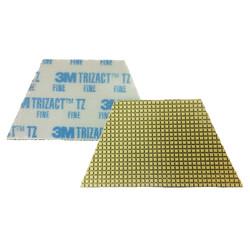 3m 86020 Trizact Diamond Tz 16 Trapezoid Pads Blue Fine Grit