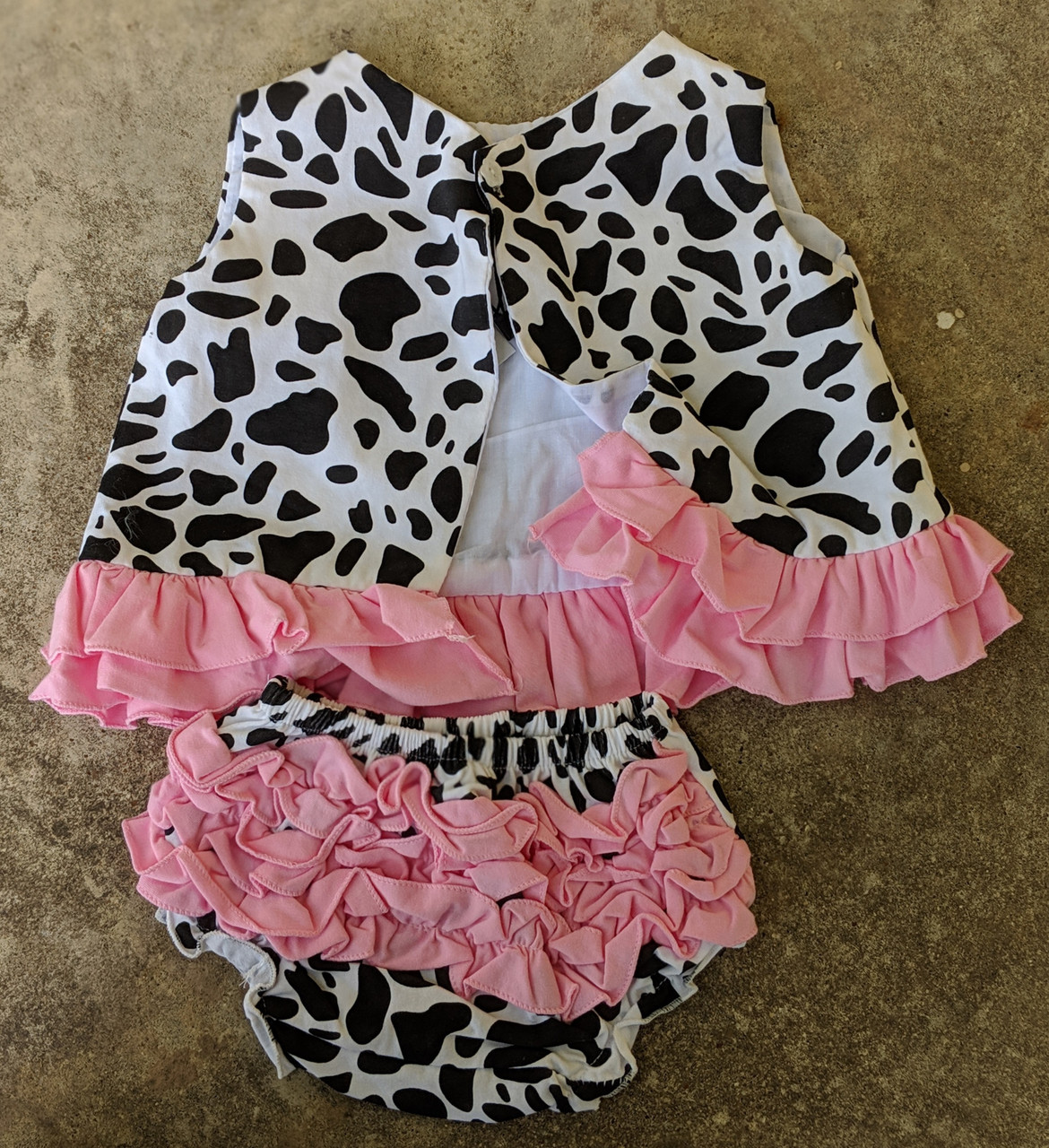 Hairbows Unlimited- Cowgirl Outfit (12-18m)