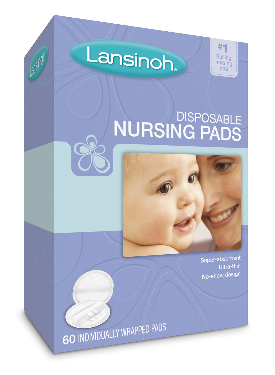Lansinoh Disposable Nursing Pads - 60