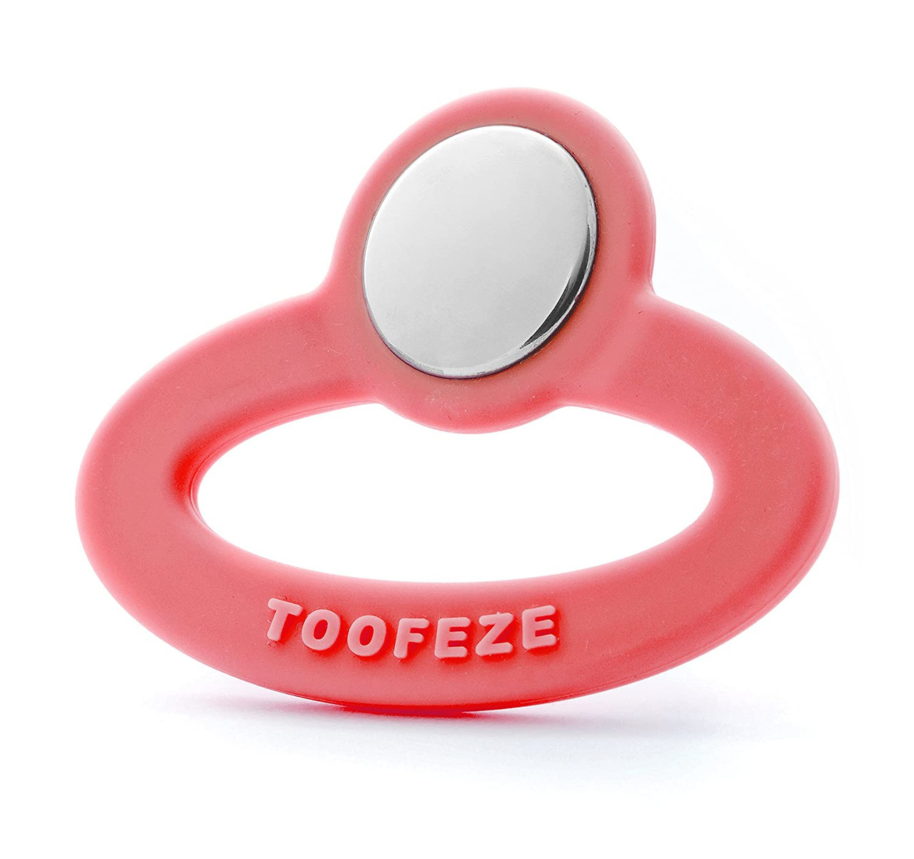 Toofeze Natural Coral Pink Baby Teether