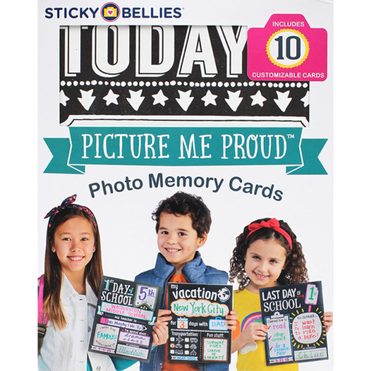 PICTURE ME PROUD Photo Memory Cards by Sticky Bellies
