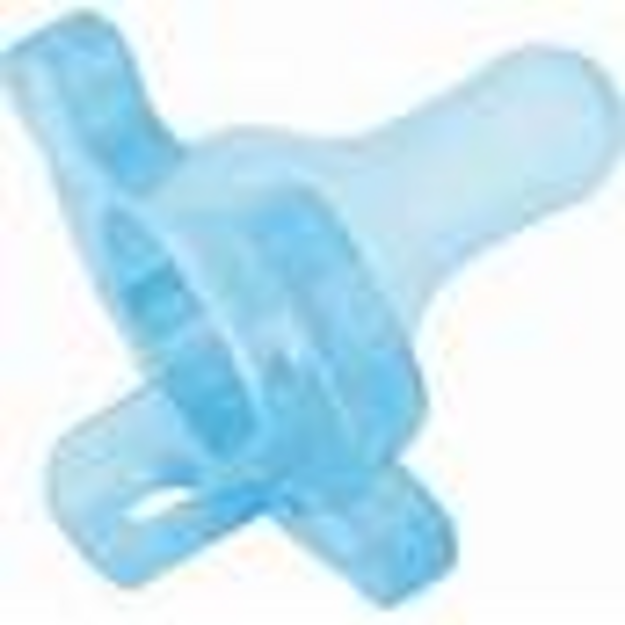 Dr. Brown's Newborn 2 Pack One Piece Silicone Pacifier - Blue