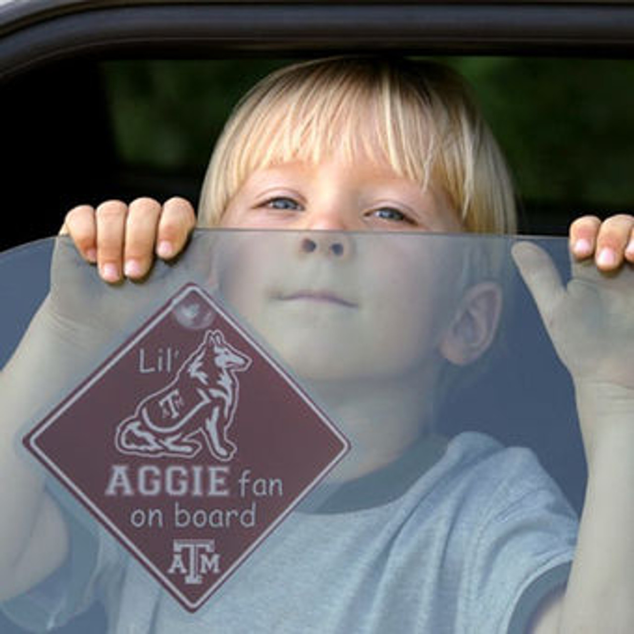 Texas A&M Lil' Fan Team Sign