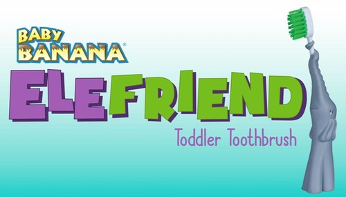 Ele Friend Bendable Toothbrush by Baby Banana