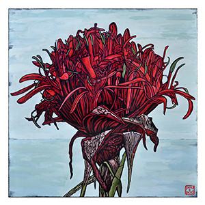 gymea lily archival print