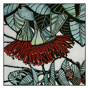 rose mallee archival print