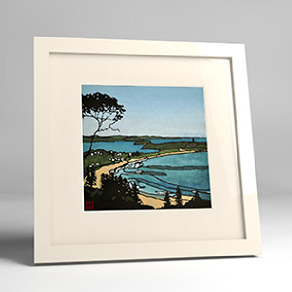 palm beach framed print