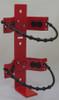 "Amerex 862 - 4.25""-6.25"" Cylinder Rubber Strap Fire Extinguisher Bracket"