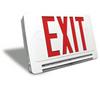 Brooks LED10 - Exit & Emergency Light Combo Sign - White