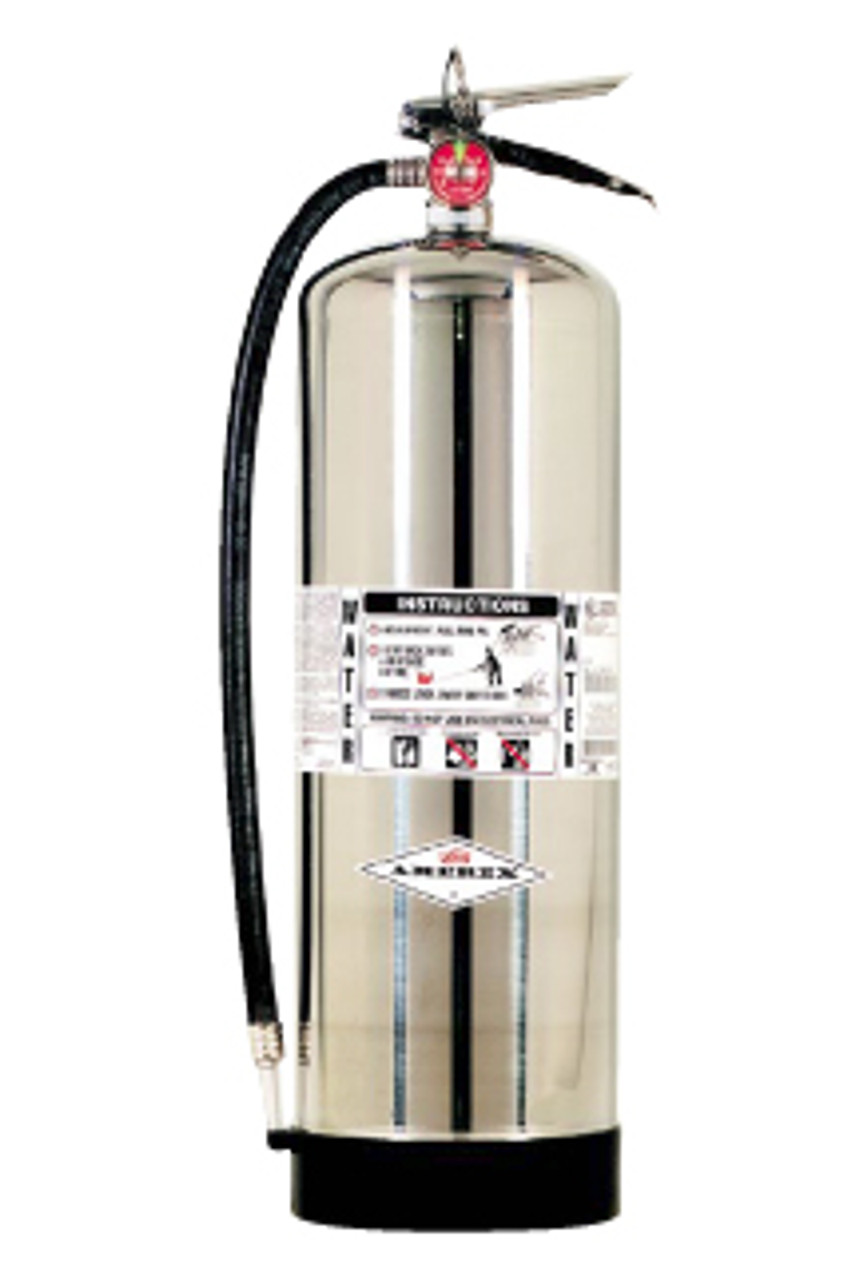 Amerex B240 2.5 Gallon Water Pressure Fire Extinguisher