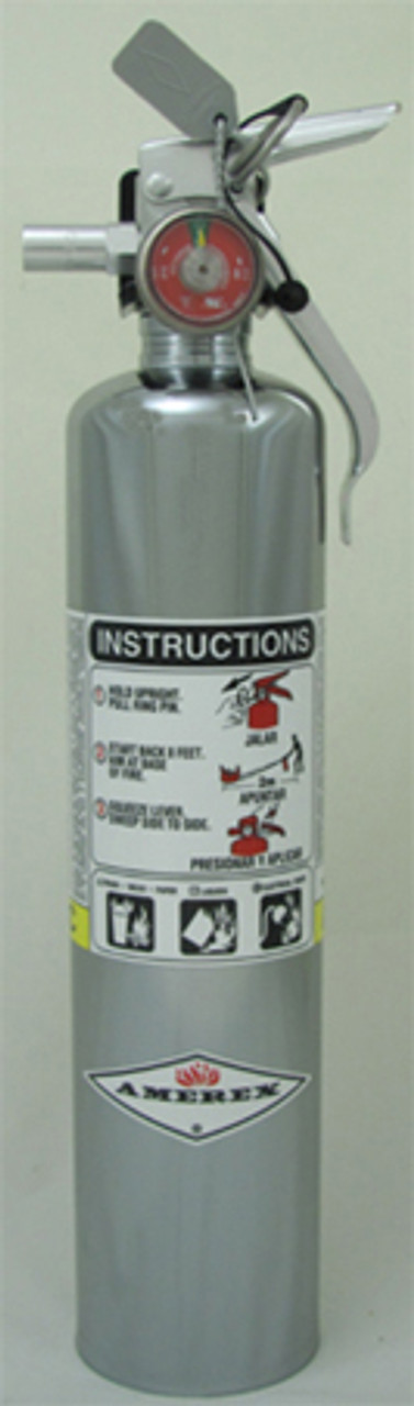 Amerex B417T - 2.5 lb ABC Extinguisher (Vehicle) 1A:10B:C