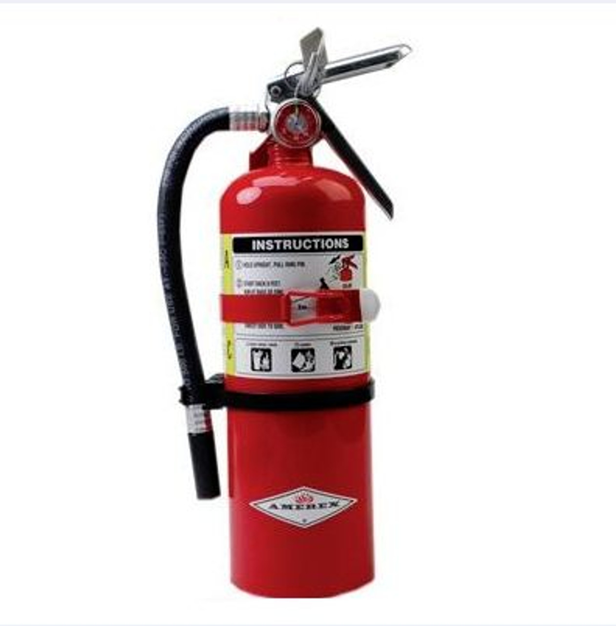 Amerex B402T - 5 lb ABC Fire Extinguisher (with vehicle bracket)