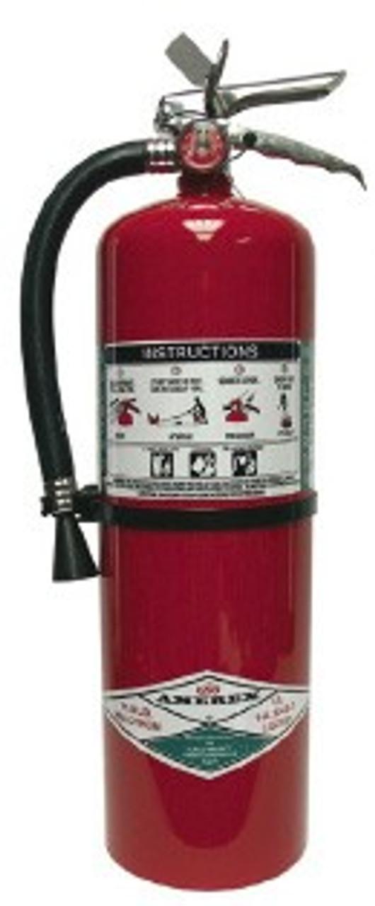 Amerex 398 - 15.5 lb Halotron Fire Extinguisher
