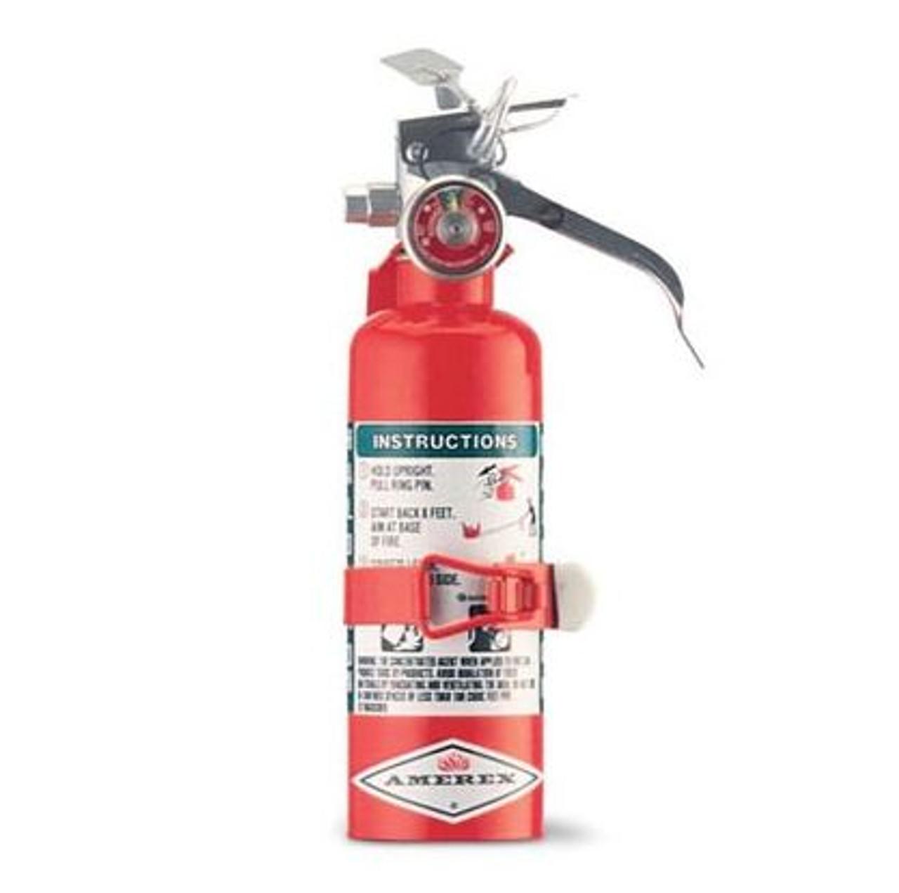 Amerex A384T - 1.4 lb Halotron Fire Extinguisher