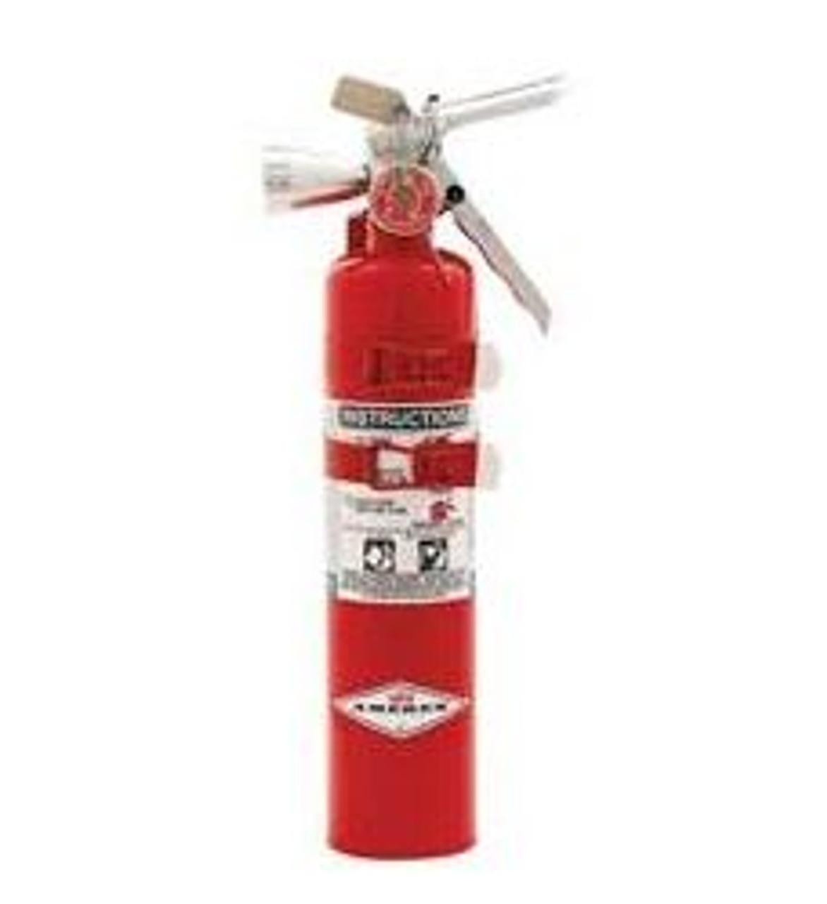 Amerex B385TS - 2.5 lb Halotron Fire Extinguisher