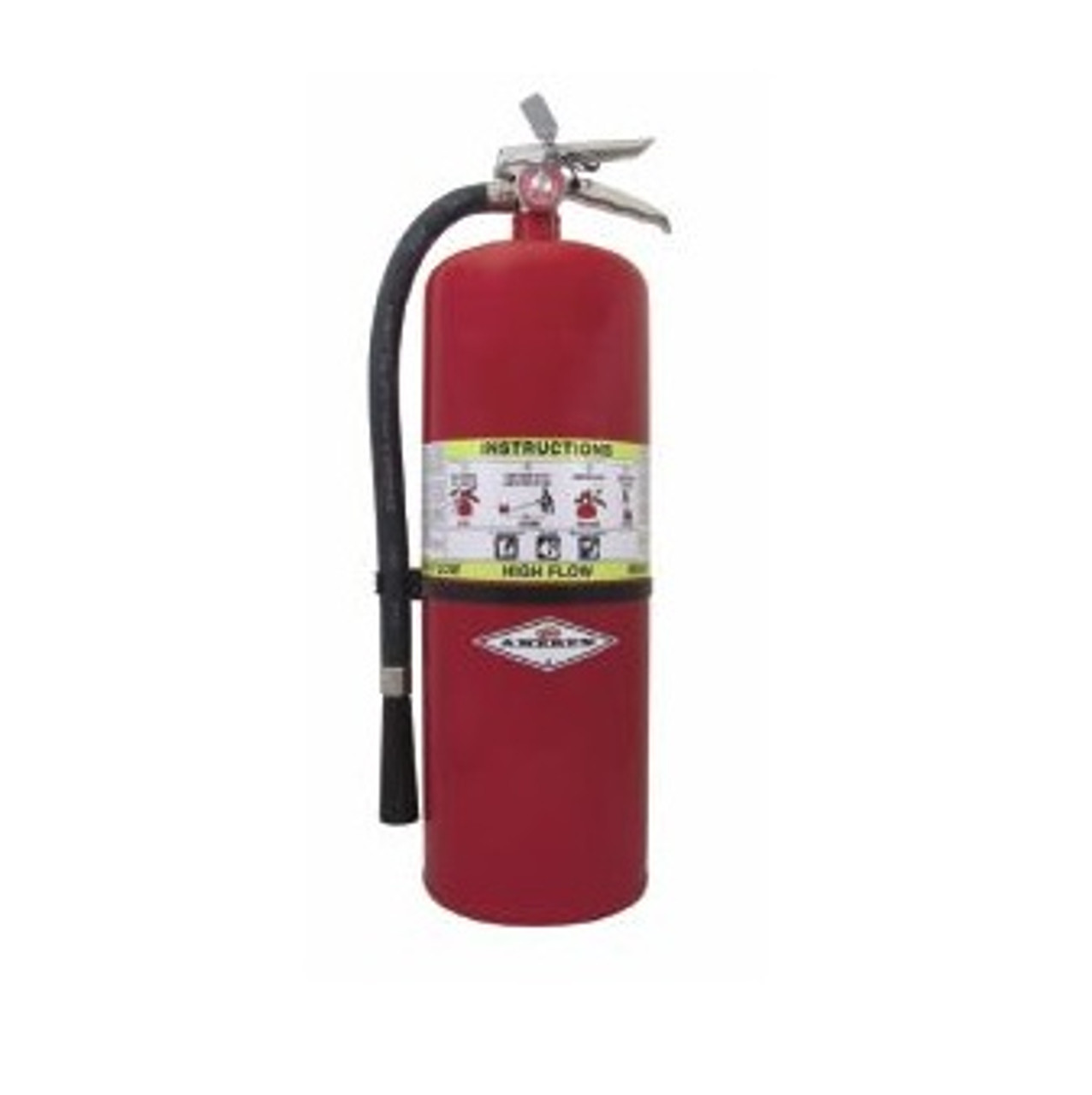 Amerex 760 - 20 lb ABC High Flow Dry Chemical Fire Extinguisher