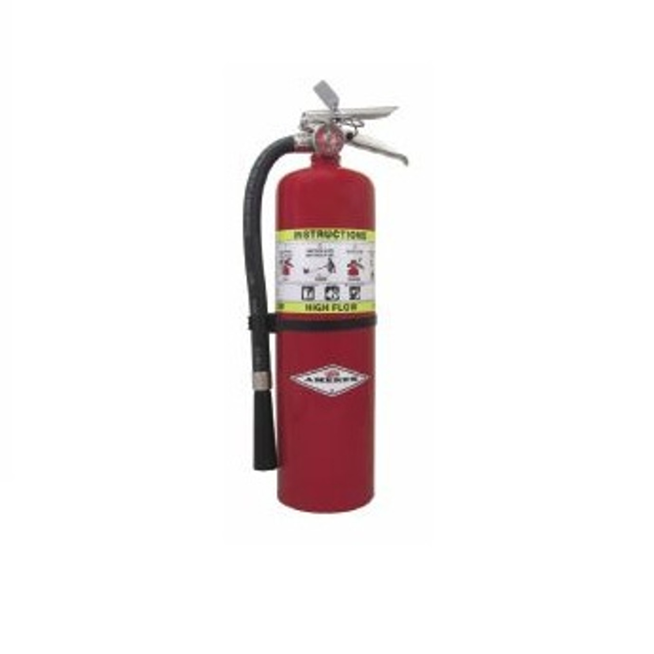 Amerex 722 - 10 lb Purple K High Flow Fire Extinguisher