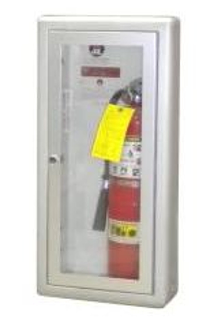 JL Industries 1025G10 - Aluminum Flat Trim Academy Cabinet