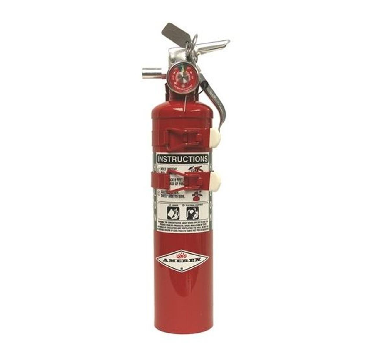 Amerex C352TS - 2.5 lb Halon 1211 Fire Extinguisher