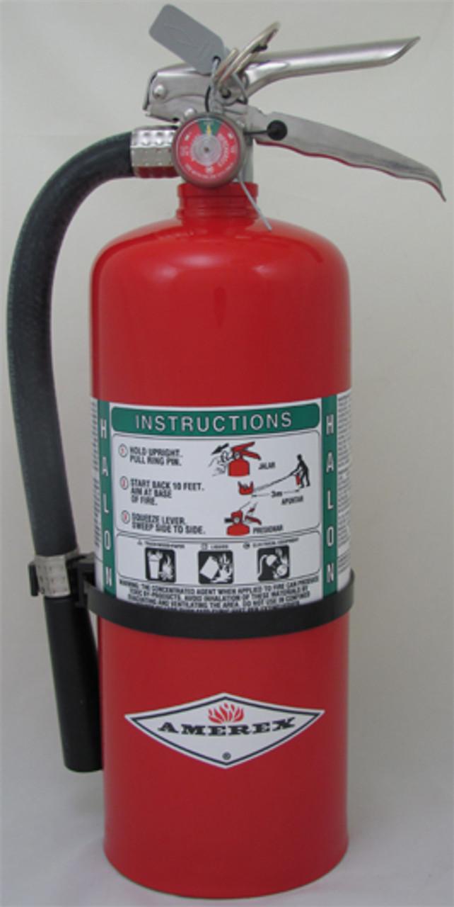 Amerex B369 - 9 lb Halon 1211 Fire Extinguisher