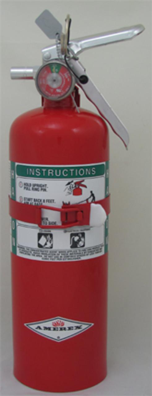 Amerex B355T - 5 lb Halon 1211 Fire Extinguisher