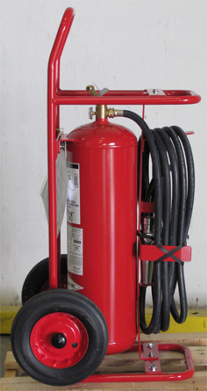 Amerex 495 - 50 lb ABC Wheeled Fire Extinguisher