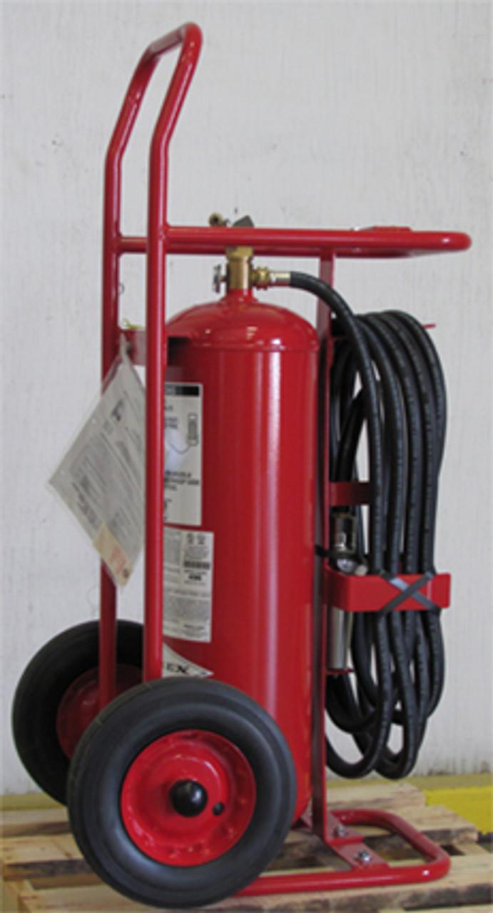 Amerex 496 - 50 lb Regular Wheeled Fire Extinguisher