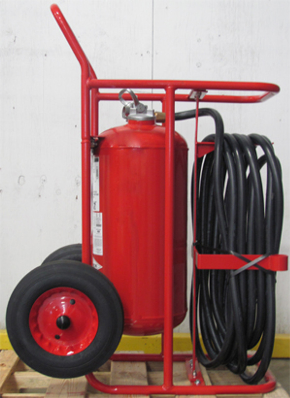 Amerex 489 - 150 lb Regular Wheeled Fire Extinguisher