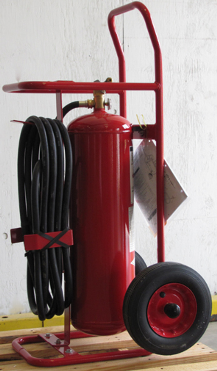 Amerex 497 - 50 lb Purple K Wheeled Fire Extinguisher