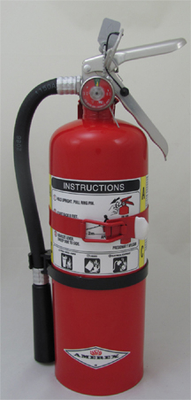 Amerex B500 - 5 lb ABC Dry Chemical Fire Extinguisher (2A:10B:C) BEST SELLER