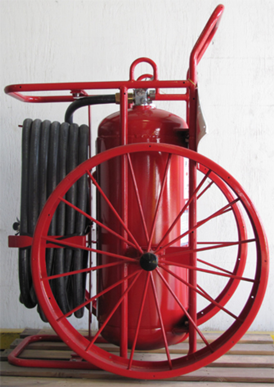 Amerex 575 - 250 lb Purple K Wheeled Fire Extinguisher