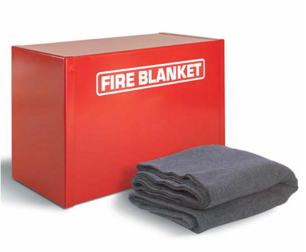 FB1 - All-steel Fire Blanket Cabinet